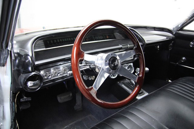 1963 CHEVROLET IMPALA CUSTOM 2 DOOR HARDTOP - Interior - 157716