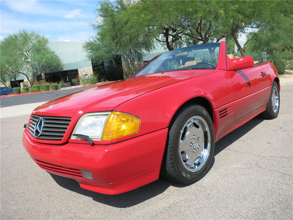 1991 MERCEDES-BENZ 500SL CONVERTIBLE - Front 3/4 - 157723
