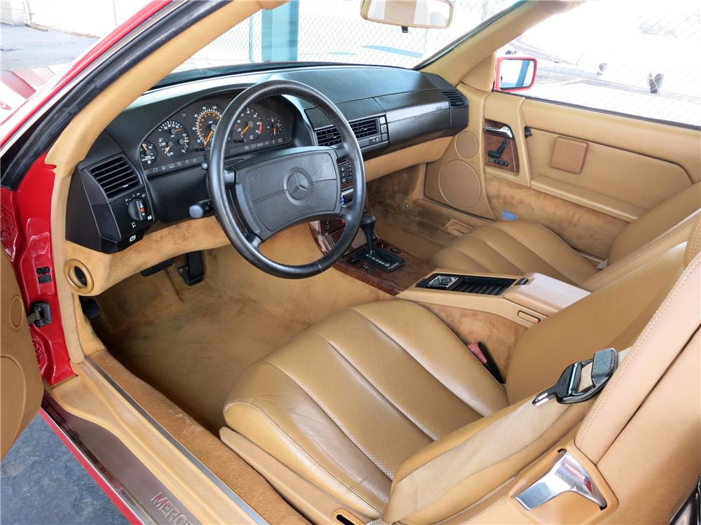 1991 MERCEDES-BENZ 500SL CONVERTIBLE - Interior - 157723