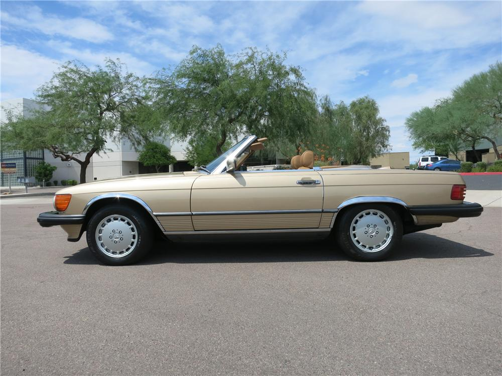 1987 mercedes benz 560sl convertible 157724
