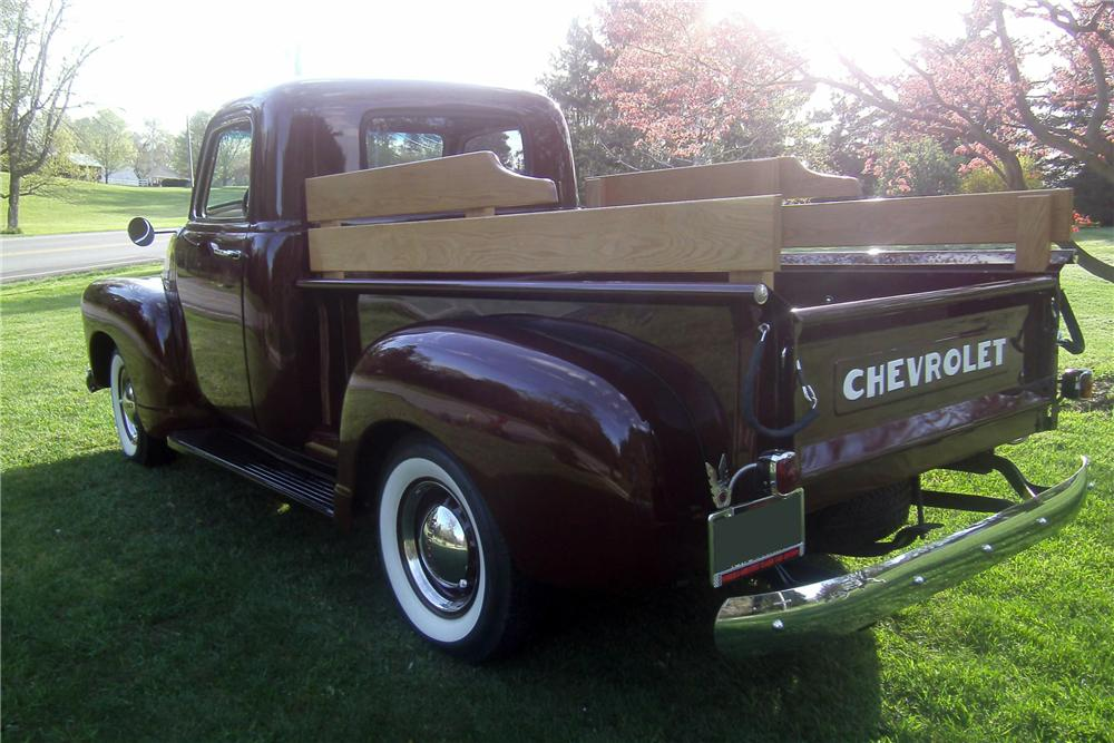 1949 CHEVROLET 3100 PICKUP - Rear 3/4 - 157731