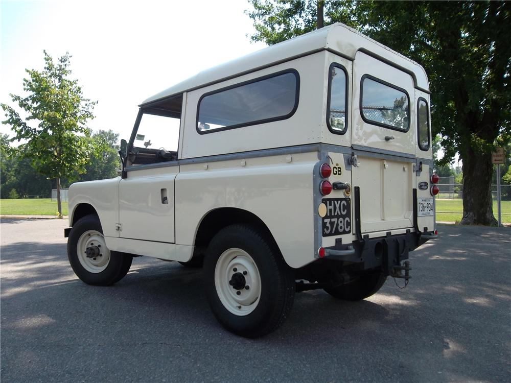 Land Rover Scottsdale >> 1965 LAND ROVER SERIES IIA 157733