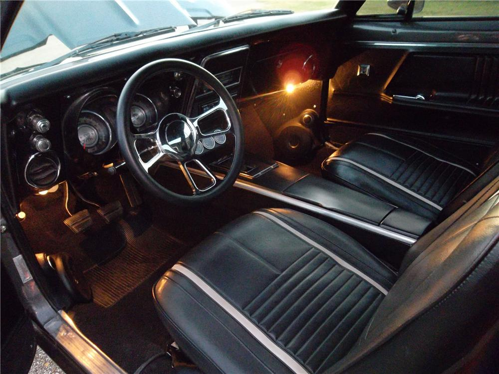 1967 CHEVROLET CAMARO CUSTOM 2 DOOR COUPE - Interior - 157734