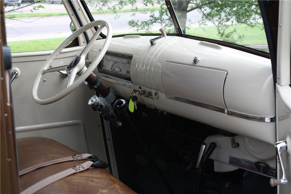 1941 CHEVROLET AK PICKUP - Interior - 157735