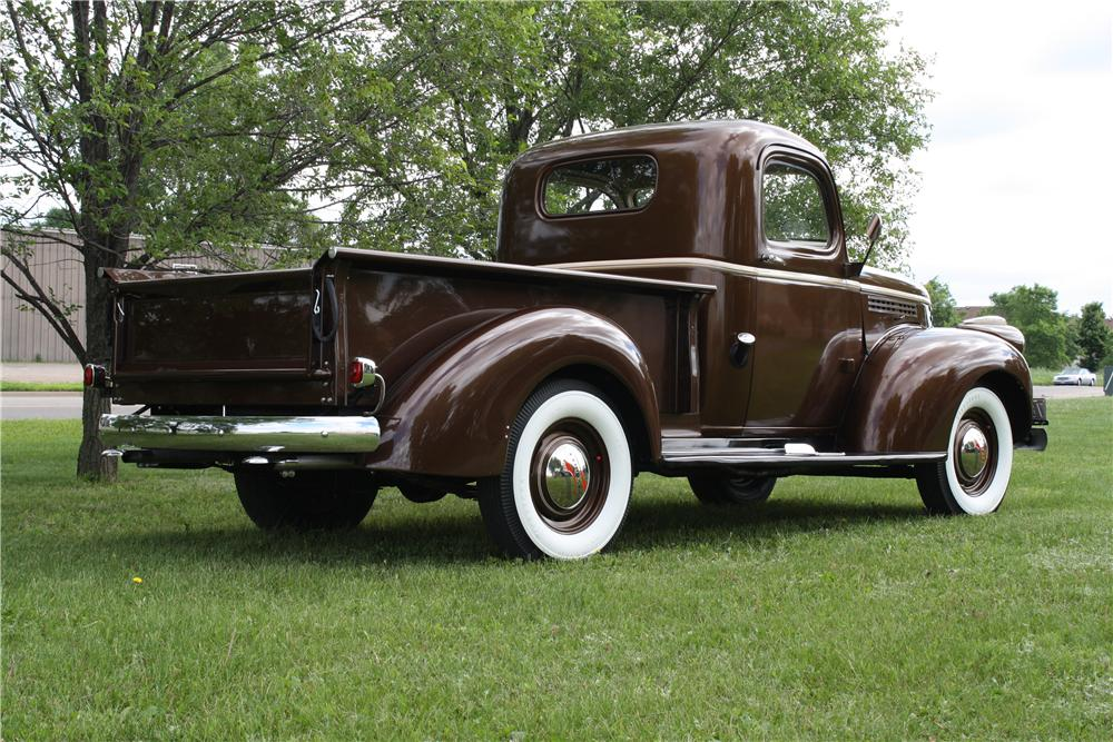 1941 CHEVROLET AK PICKUP - Rear 3/4 - 157735