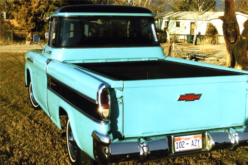1958 CHEVROLET CAMEO PICKUP - Rear 3/4 - 157736