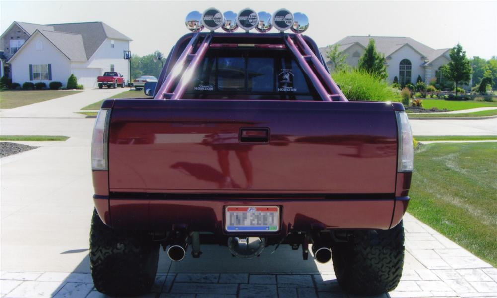 1991 CHEVROLET C-10 CUSTOM PICKUP - Rear 3/4 - 15774