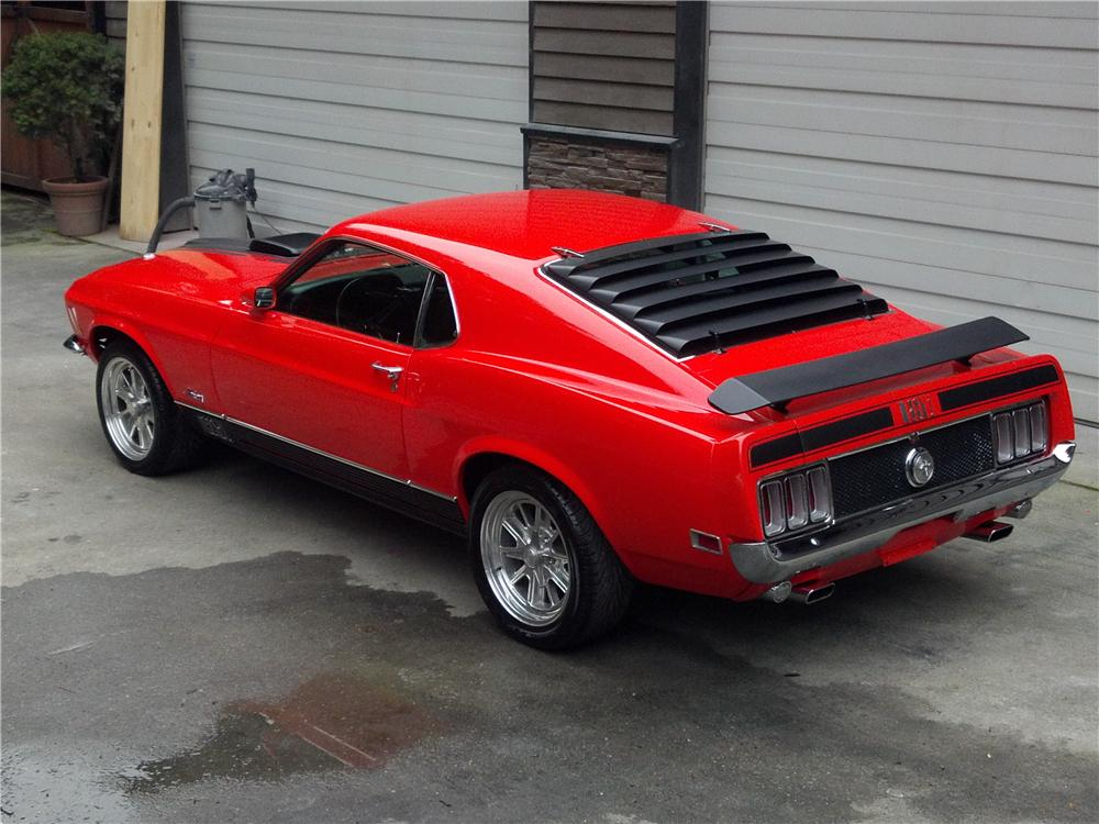 1970 FORD MUSTANG MACH 1 FASTBACK - Rear 3/4 - 157740