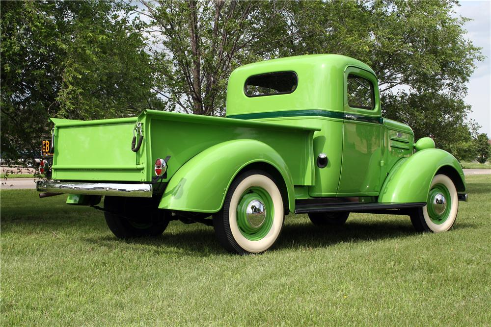 1937 CHEVROLET GC PICKUP - Rear 3/4 - 157741