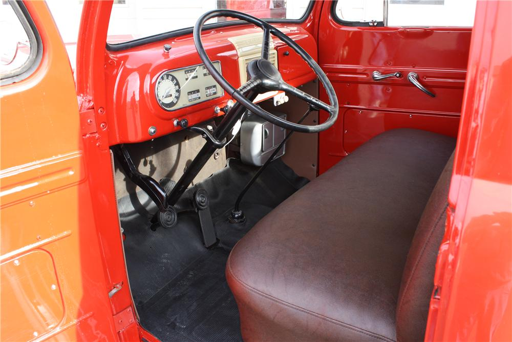 1950 FORD F-1 PICKUP - Interior - 157742