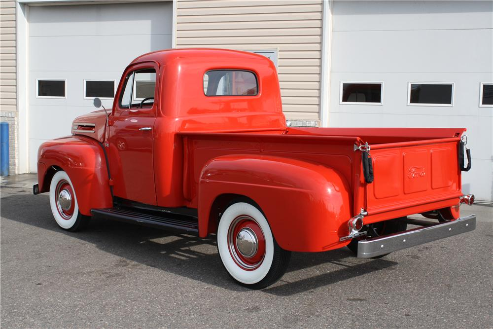 1950 FORD F-1 PICKUP - Rear 3/4 - 157742