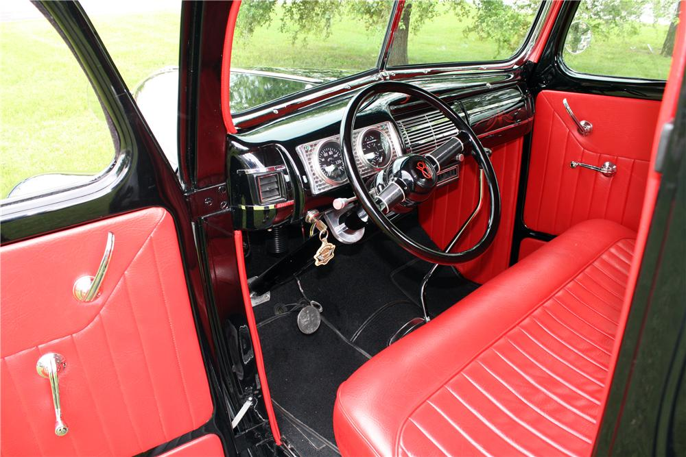 1941 FORD CUSTOM PICKUP - Interior - 157744