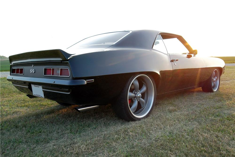 1969 CHEVROLET CAMARO CUSTOM 2 DOOR COUPE - Rear 3/4 - 157746
