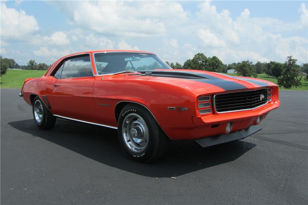 1969 CHEVROLET CAMARO Z/28 2 DOOR COUPE - Front 3/4 - 157752