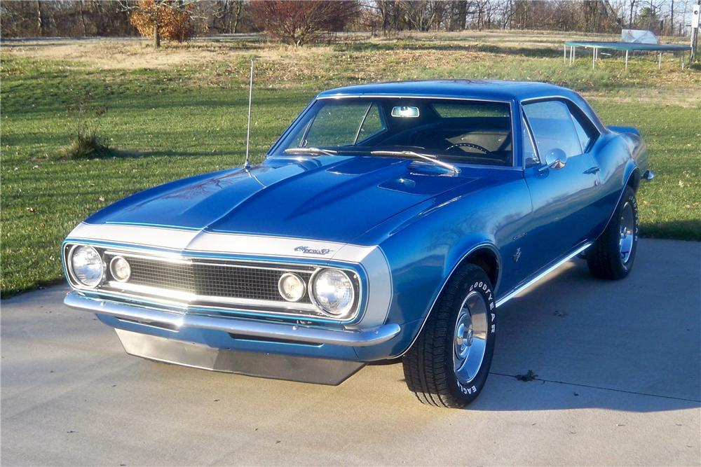 1967 CHEVROLET CAMARO 2 DOOR COUPE - Front 3/4 - 157755