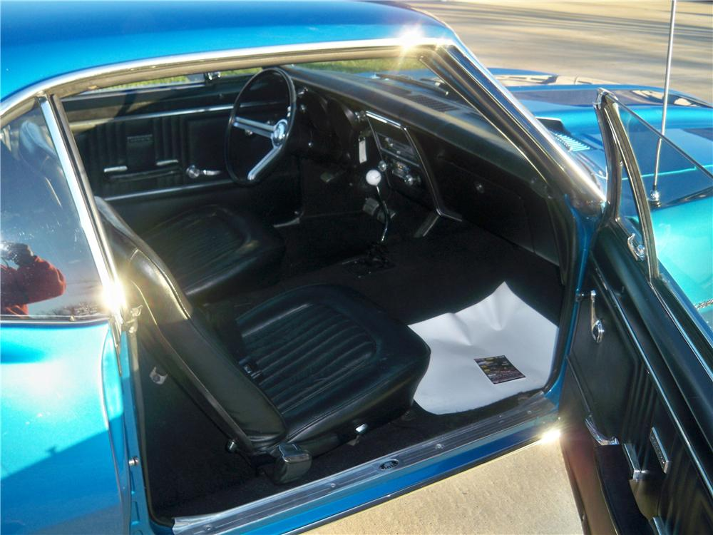 1967 CHEVROLET CAMARO 2 DOOR COUPE - Interior - 157755