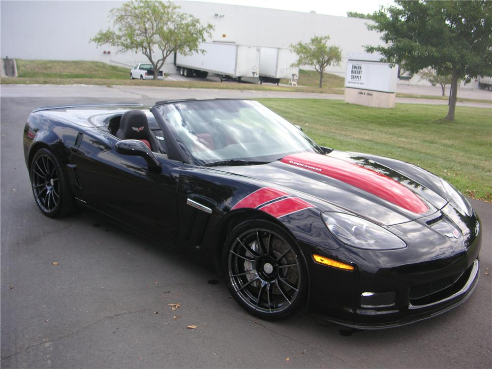 2010 chevrolet corvette grand sport callaway convertible side. Cars Review. Best American Auto & Cars Review
