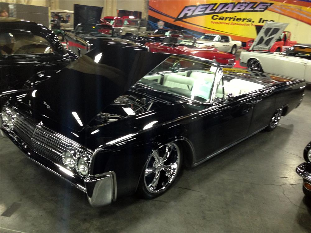 1963 LINCOLN CONTINENTAL CUSTOM CONVERTIBLE - Front 3/4 - 157765