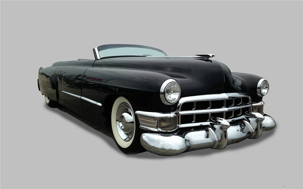 1952 CADILLAC CUSTOM 2 DOOR ROADSTER - Front 3/4 - 157766