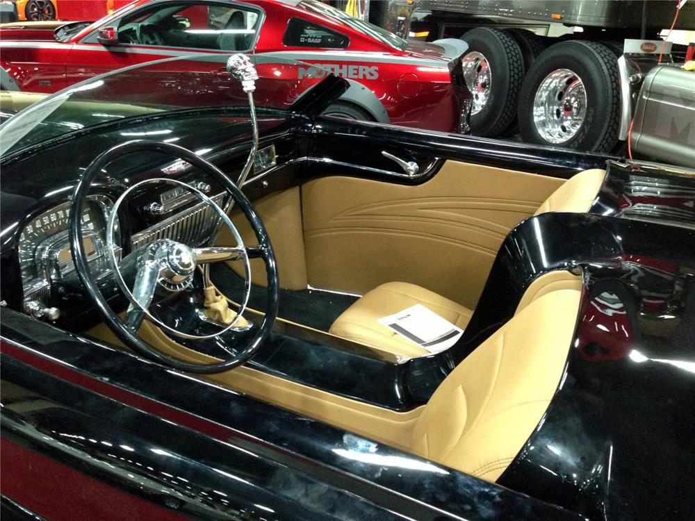 1952 CADILLAC CUSTOM 2 DOOR ROADSTER - Interior - 157766
