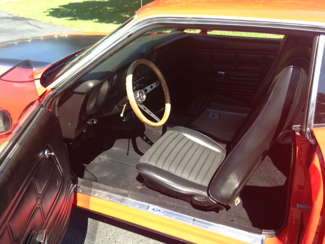 1973 FORD MUSTANG MACH 1 FASTBACK - Interior - 157770