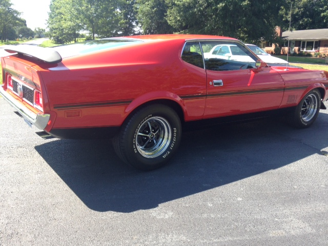 1973 FORD MUSTANG MACH 1 FASTBACK - Rear 3/4 - 157770