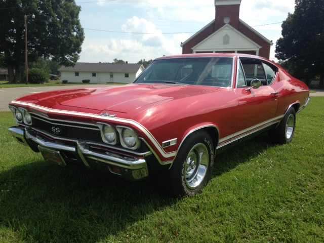1968 CHEVROLET CHEVELLE SS 396 COUPE - Front 3/4 - 157771