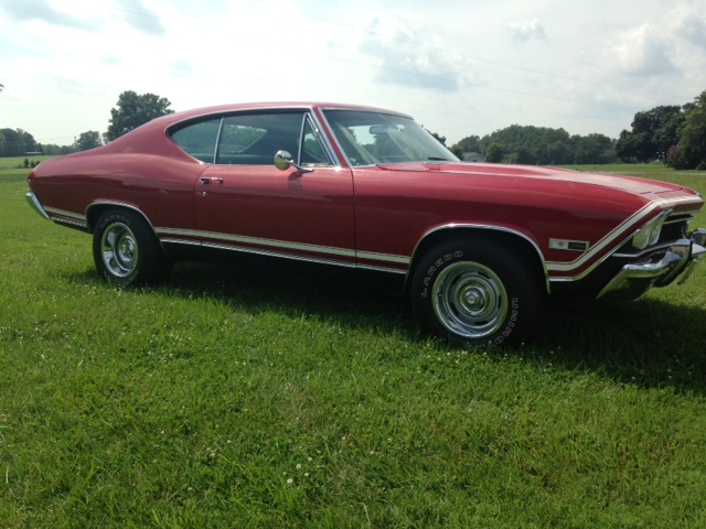 1968 CHEVROLET CHEVELLE SS 396 COUPE - Side Profile - 157771