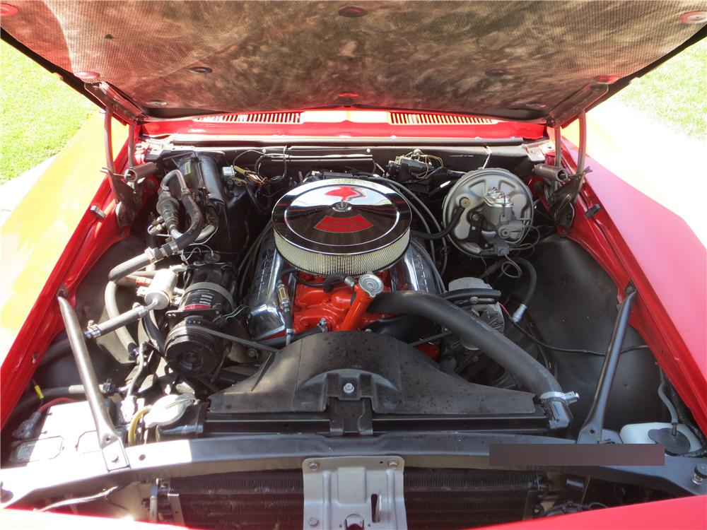 1967 CHEVROLET CAMARO 2 DOOR HARDTOP - Engine - 157772