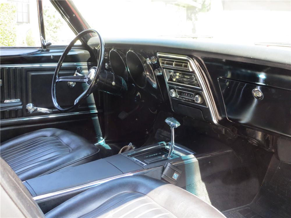 1967 CHEVROLET CAMARO 2 DOOR HARDTOP - Interior - 157772
