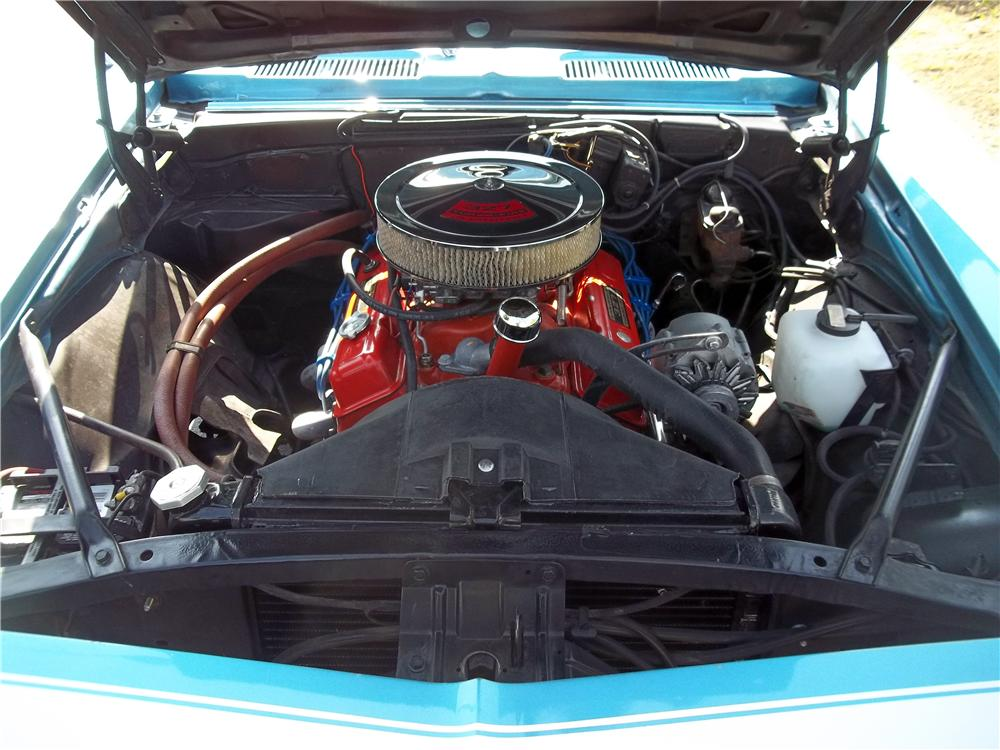 1968 CHEVROLET CAMARO 2 DOOR HARDTOP - Engine - 157773