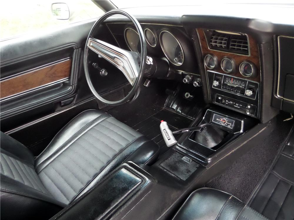 1971 FORD MUSTANG MACH 1 FASTBACK - Interior - 157775