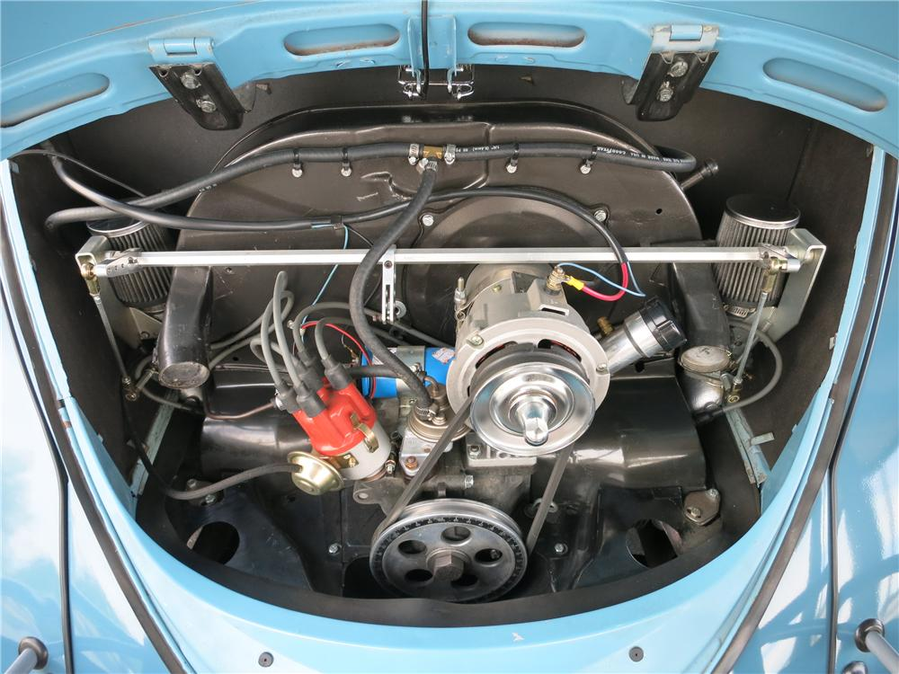 1961 VOLKSWAGEN BEETLE 2 DOOR SEDAN - Engine - 157780