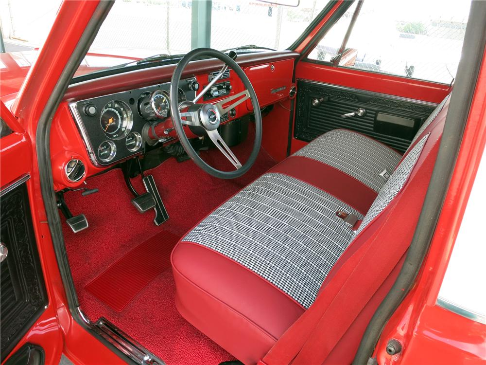 1969 CHEVROLET C-10 CST PICKUP - Interior - 157781