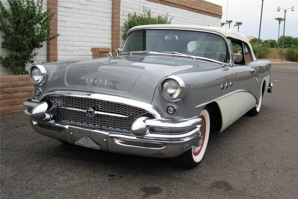 1955 BUICK SPECIAL CONVERTIBLE - Front 3/4 - 157788