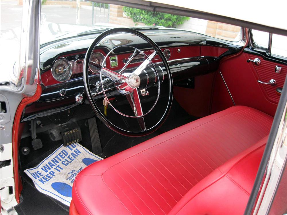 1955 BUICK SPECIAL CONVERTIBLE - Interior - 157788