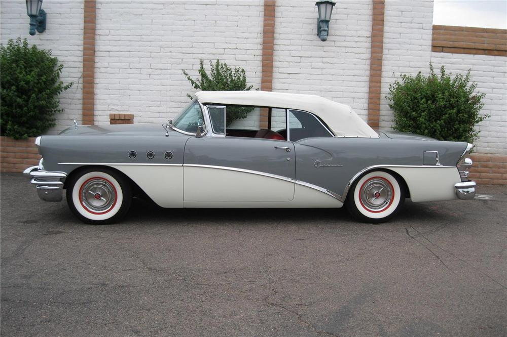 1955 BUICK SPECIAL CONVERTIBLE - Side Profile - 157788