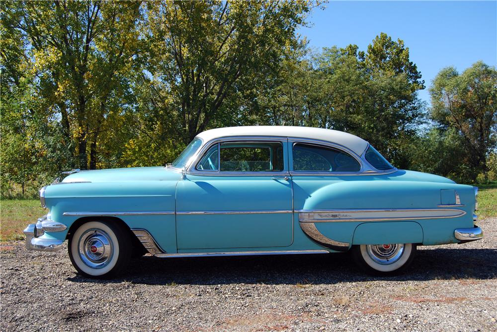 1954 chevrolet bel air 2 door sedan 157790