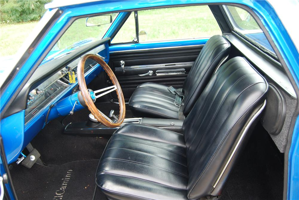1966 CHEVROLET EL CAMINO PICKUP - Interior - 157795