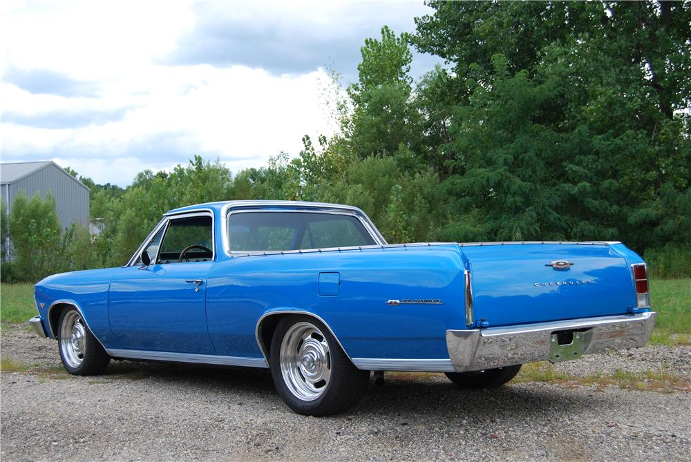 1966 CHEVROLET EL CAMINO PICKUP - Rear 3/4 - 157795