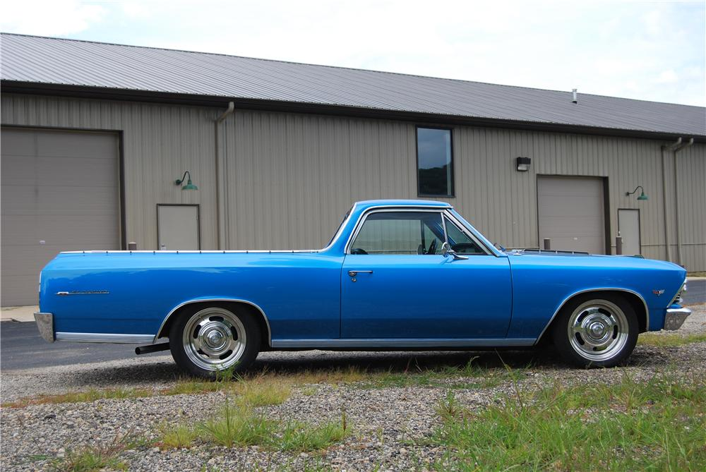 1966 CHEVROLET EL CAMINO PICKUP - Side Profile - 157795