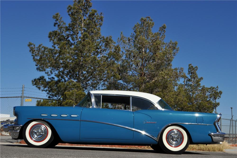 1956 BUICK SPECIAL RIVIERA CUSTOM 2 DOOR HARDTOP - Side Profile - 157816