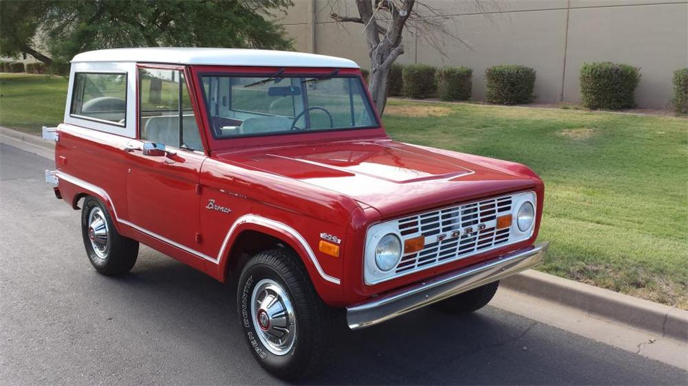 1970 FORD BRONCO SUV - Front 3/4 - 157818