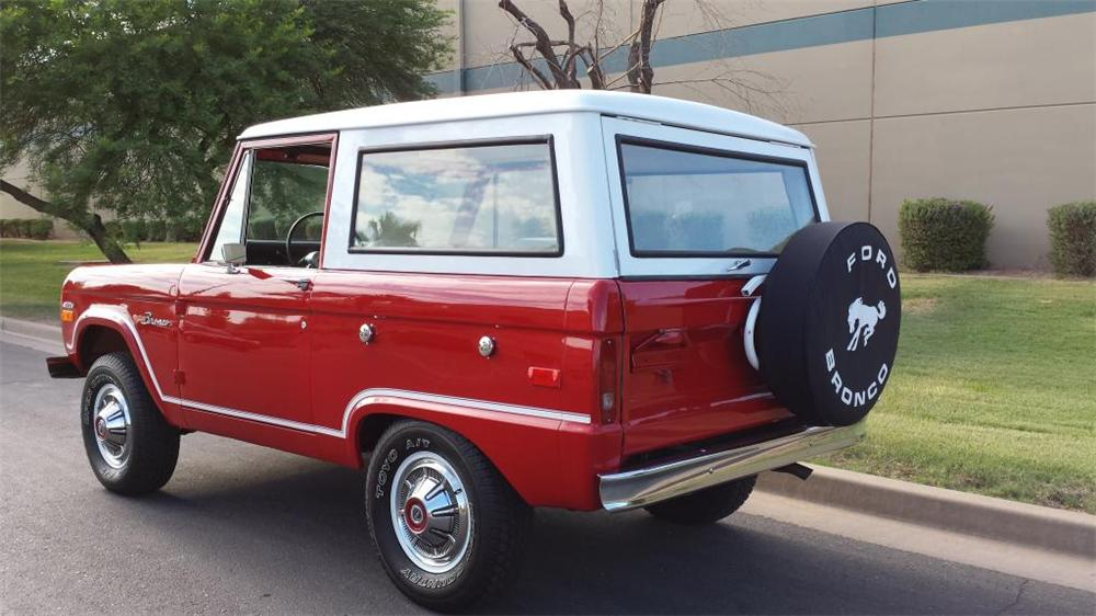 1970 FORD BRONCO SUV - Side Profile - 157818