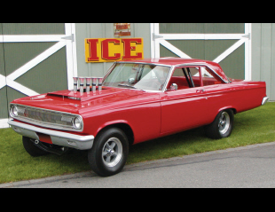 1965 DODGE CORONET HEMI AFX RACECAR RECREATION -  - 15782