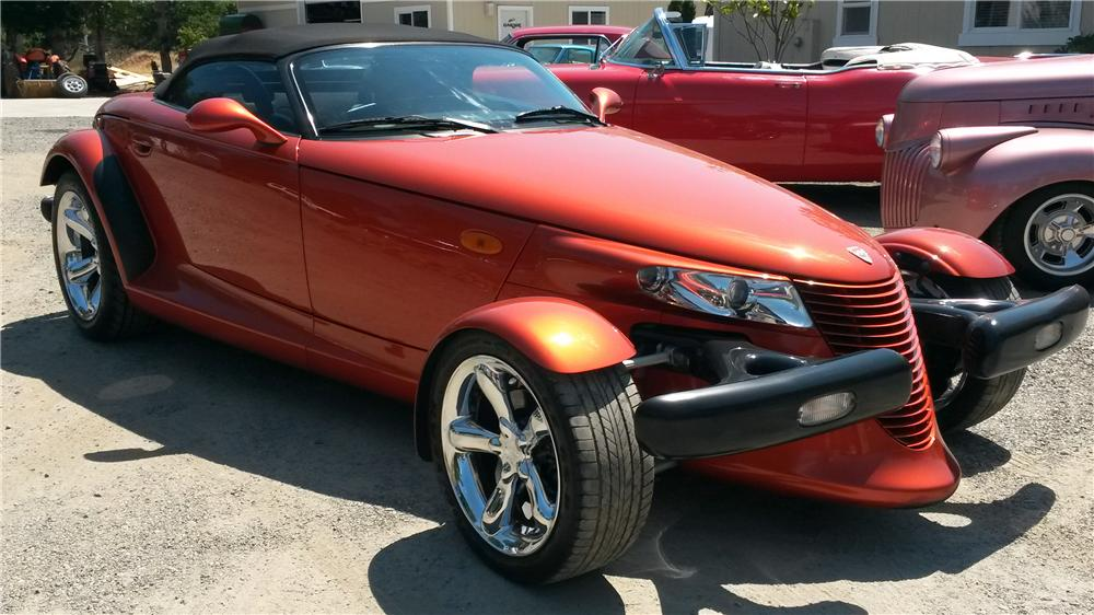 2001 PLYMOUTH PROWLER CONVERTIBLE 157821 on prowler auctions