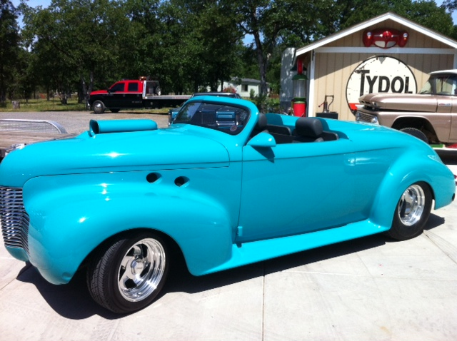 1940 CHEVROLET CUSTOM TOPLESS ROADSTER - Side Profile - 157823