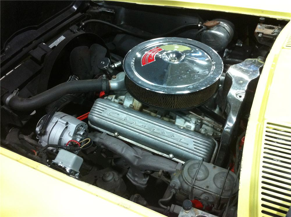 1967 CHEVROLET CORVETTE 2 DOOR COUPE - Engine - 157824