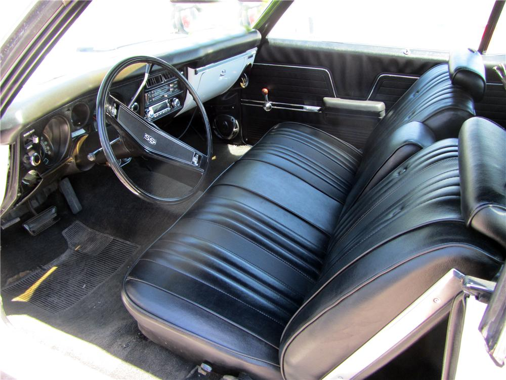 1969 CHEVROLET CHEVELLE MALIBU 2 DOOR COUPE - Interior - 157825
