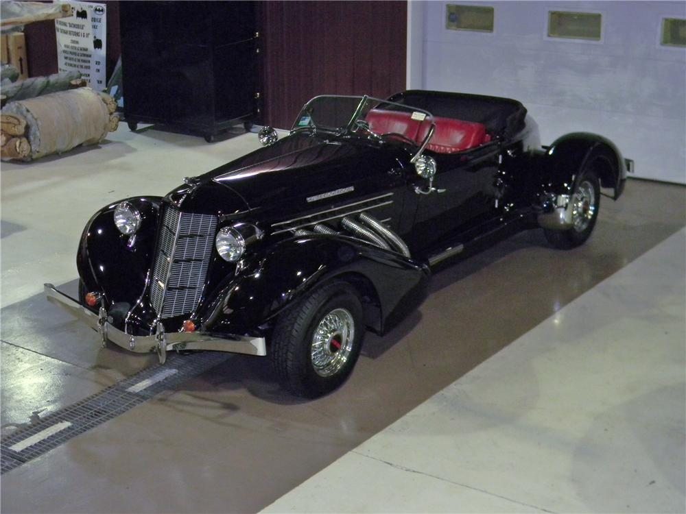 1936 AUBURN SPEEDSTER RE-CREATION - Front 3/4 - 157833